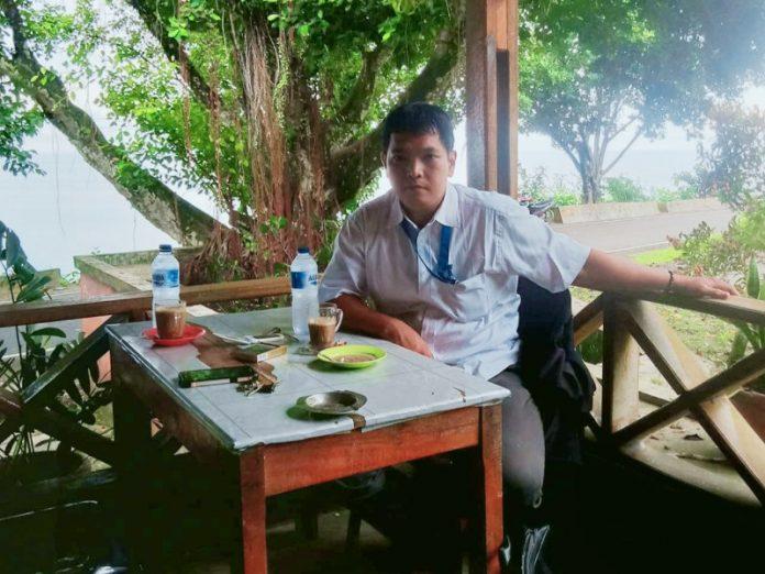 EMAN SYUKUR HAREFA, SH Pengacara Hukum Korban (SAFARWANTO GIAWA)